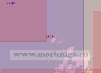 26034 От светящего знака Вааса до маяка Нурдвален (Масштаб 1:50 000)