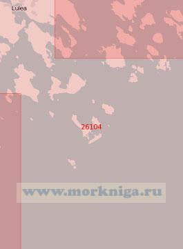 26104 Подходы к порту Лулео (Масштаб 1:50 000)