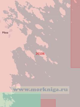26106 Подходы к порту Питео (Масштаб 1:50 000)