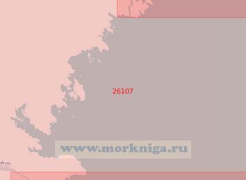 26107 От полуострова Когнесет до острова Рёншер (Масштаб 1:50 000)
