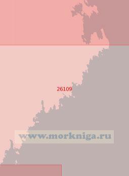26109 От маяка Веншер до маяка Бьюрёклубб (Масштаб 1:50 000)