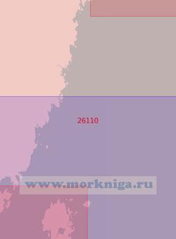 26110 От маяка Стура-Фьедерегг до маяка Венншер (Масштаб 1:50 000)