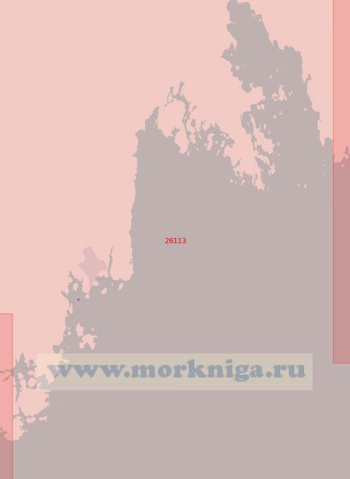 26113 От мыса Скагсудде до бухты Ернесхамн (Масштаб 1:50 000)