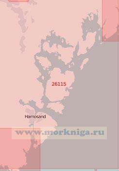 26115 Река Онгерманэльвен (Масштаб 1:50 000)