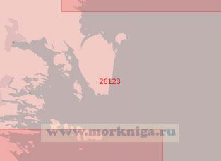 26123 Порт Худиксвалль с подходами (Масштаб 1:50 000)
