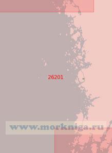 26201 От маяка Холле до светящего знака Рамшер (Масштаб 1:50 000)