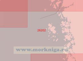 26202 От светящего знака Рамшер до маяка Турбьёрншер (Масштаб 1:50 000)
