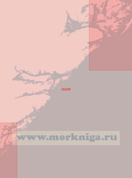 26208 От острова Бурей до порта Крагерё (Масштаб 1:50 000)