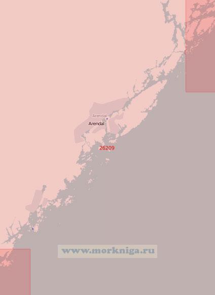 26209 От маяка Хумбурсунн до порта Тведестранн (Масштаб 1:50 000)