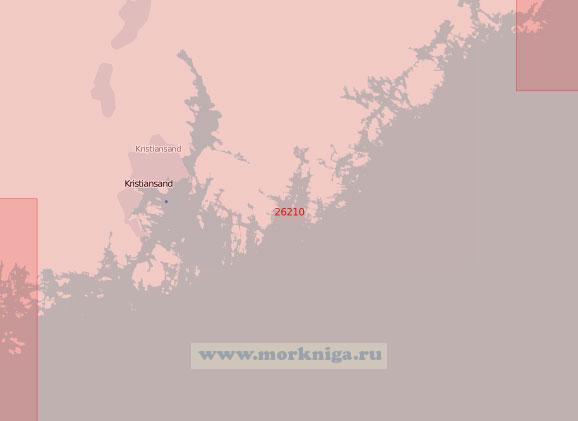 26210 Подходы к порту Кристиансанн (Масштаб 1:50 000)