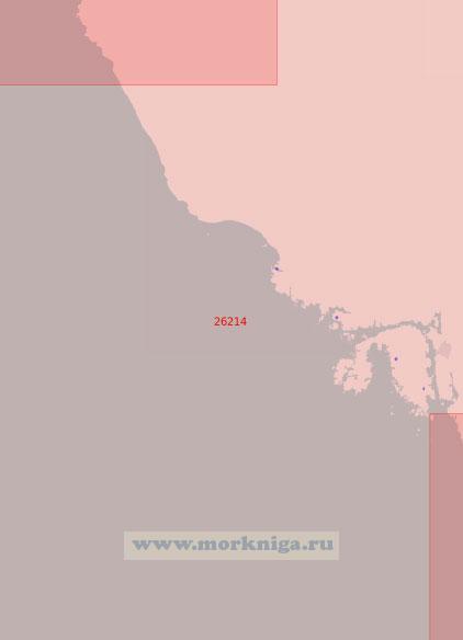 26214 От пролива Сёрагапет до маяка Обрестад (Масштаб 1:50 000)