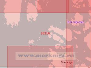 26216 Подходы к порту Ставангер (Масштаб 1:50 000)