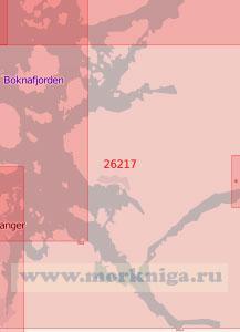 26217 От порта Ставангер до острова Омбу с Люсе-фьордом (Масштаб 1:50 000)