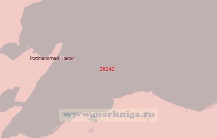 26242 Юго-западная часть залива Мори-Фёрт (Масштаб 1:75 000)