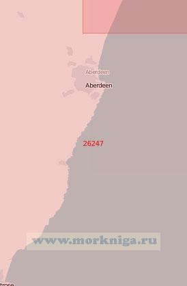 26247 От устья реки Айтан до гавани Монтроз-Харбор (Масштаб 1:75 000)