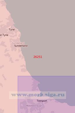 26251 От порта Тайн до бухты Тис (Масштаб 1:75 000)