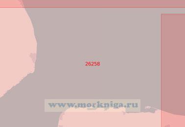 26258 Подходы к бухте Уош (Масштаб 1:75 000)