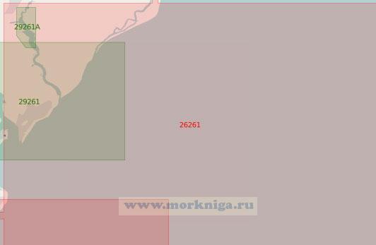 26261 От мыса Орфорд-Несс до мыса Те-Нейз (Масштаб 1:50 000)