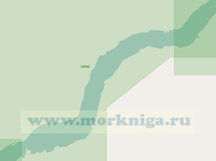 26696 От селения Вьей-Эглиз до порта Труа-Ривьер (Масштаб 1:40 000)