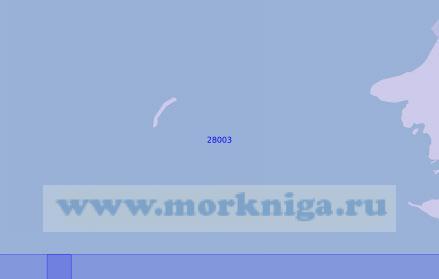 28003 Сестрорецкий подходный фарватер (Масштаб 1:12 500)