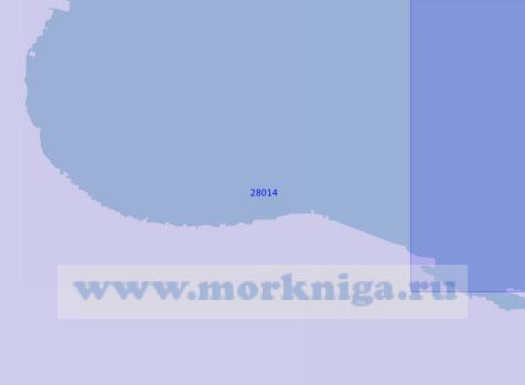28014 Подходы к устью реки Луга (Масштаб 1:10 000)