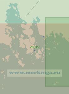 28019 Рейды Питкяпаасский и Штандарт с подходами (Масштаб 1:25 000)