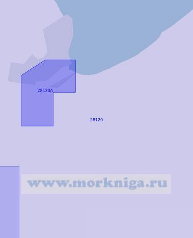 28120 От порта Травемюнде до бухты Гросе-Хольцвик (Масштаб 1:12 500)