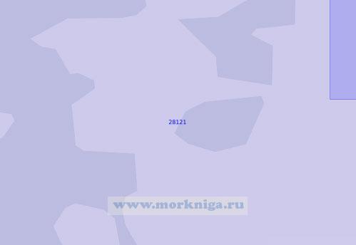 28121 От бухты Гросе-Хольцвик до порта Любек (Масштаб 1:12 500)