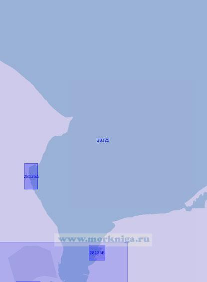 28125 Северная часть бухты Килер-Фёрде (Масштаб 1:12 500)