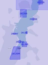 28126 Южная часть бухты Килер-Фёрде (Масштаб 1:12 500)