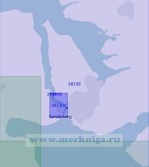 28130 Пролив Альс-Сунн и бухта Аугустенборг-фьорд (Масштаб 1:20 000)