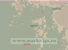 28161 Юго-западные подходы к порту Гётеборг (Масштаб 1:25 000)