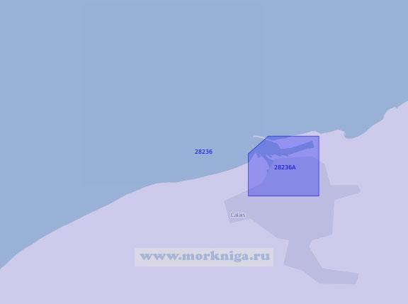 28236 Порт Кале с подходами (Масштаб 1:15 000)