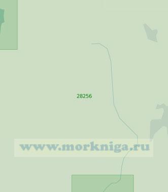 28256 От порта Эмден до порта Папенбург (Масштаб 1:25 000)