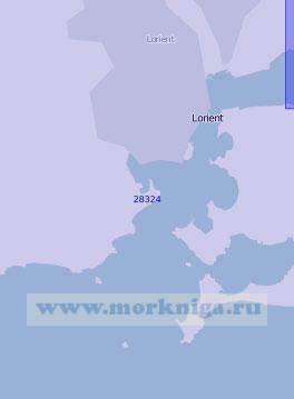 28324 Порт Лорьян (Масштаб 1:10 000)