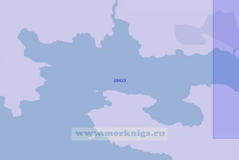 28423 Западная часть бухты Милфорд-Хейвен (Масштаб 1:12 500)