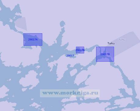 29017 Порт Турку (Або) с подходами (Масштаб 1:20 000)