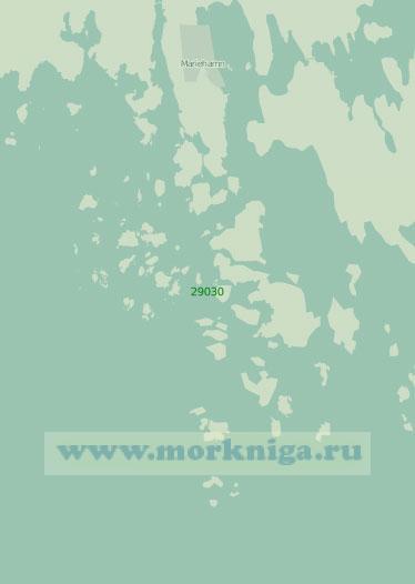 29030 Порт Марианхамина (Мариехамн) с подходами (Масштаб 1:25 000)