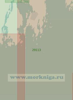 29113 Порт Умео с подходами (Масштаб 1:25 000)