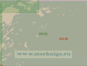 29132 От маяка Альмагрундет до светящего знака Етхольмен (Масштаб 1:25 000)