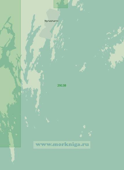 29138 Гавань Нюнесхамн с подходами (Масштаб 1:25 000)