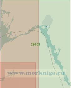 29202 Порт Халден с подходами и залив Идде-фьорд (Масштаб 1:25 000)