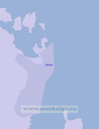 29210 Порт Хортен (Масштаб 1:10 000)