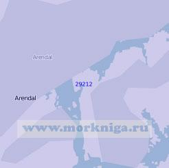 29212 Порт Арендаль (Масштаб 1:7 500)