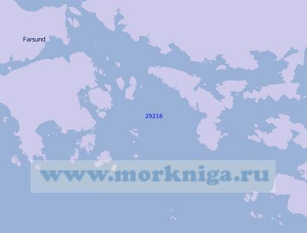 29216 Порт Фарсунн с подходами (Масштаб 1:10 000)