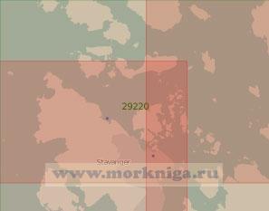 29220 Порт Ставангер с подходами (Масштаб 1:25 000)