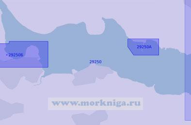 29250 Река Форт. От гавани Брус до города Кинкардин (Масштаб 1: 17 500)