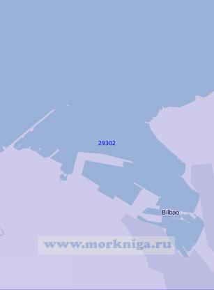 29302 Бухта и порт Бильбао (Масштаб 1:10 000)