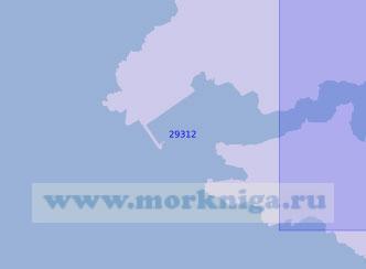 29312 Подходы к порту Эль-Ферроль (Масштаб 1:7 500)