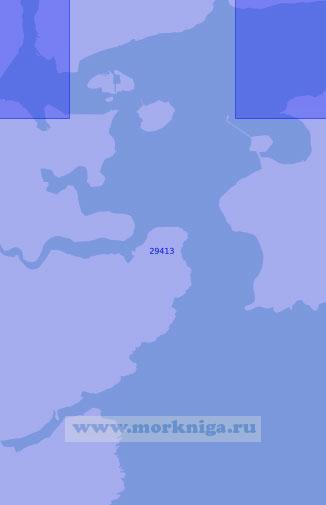 29413 Порт Корк. Нижняя гавань (Масштаб 1: 12 500)